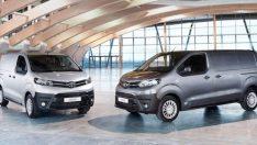 Toyota Proace VERSO ve VAN ile ticarete giriyor