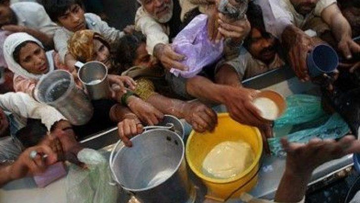 Dünyadaki açlık çeken insan sayısı korkutucu seviyelerde
