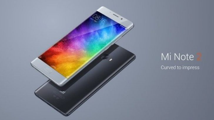 Xiaomi Mi Note 2 yeni render görüntüsü ortaya çıktı