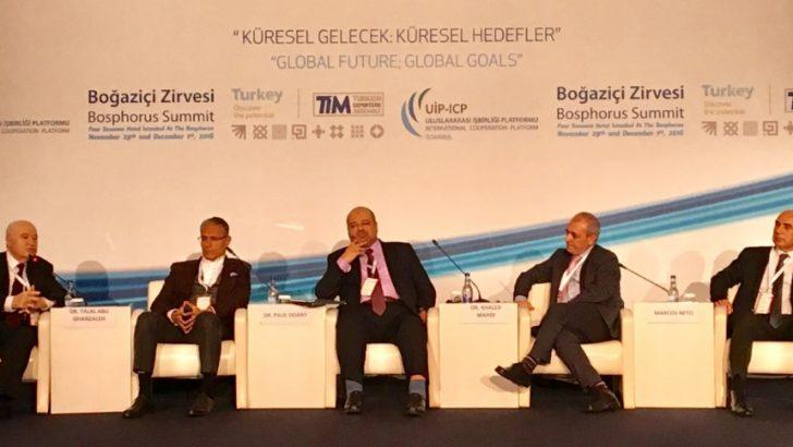 Türk Telekom Boğaziçi Zirvesi'nde örnek gösterildi