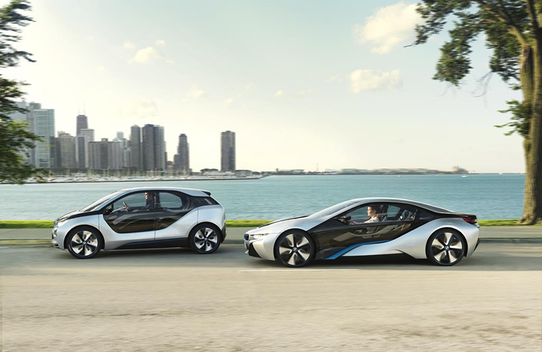 Image with BMW i3 and BMW