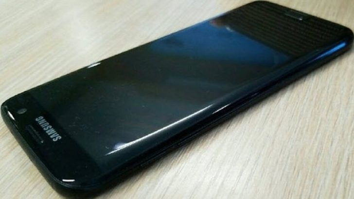 'Parlak siyah' Galaxy S7 yolda