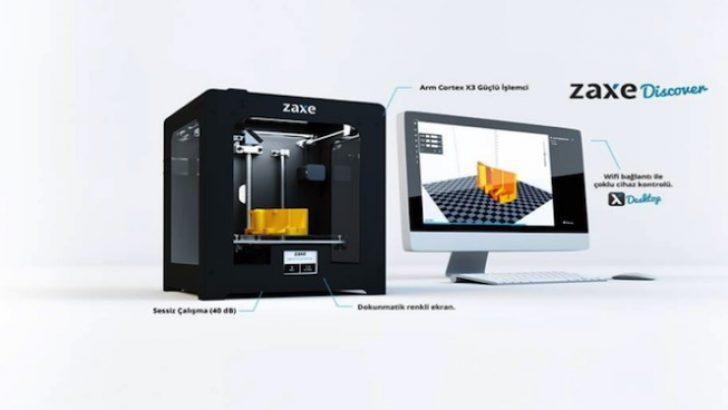 İlk yerli 3D yazıcı Zaxe 2017'de dünyaya açılıyor