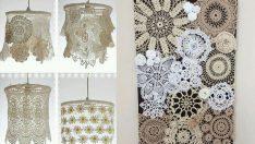Eski dantelleriniz için 19 dekoratif öneri