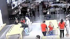 Apple Store'da şok soygun!