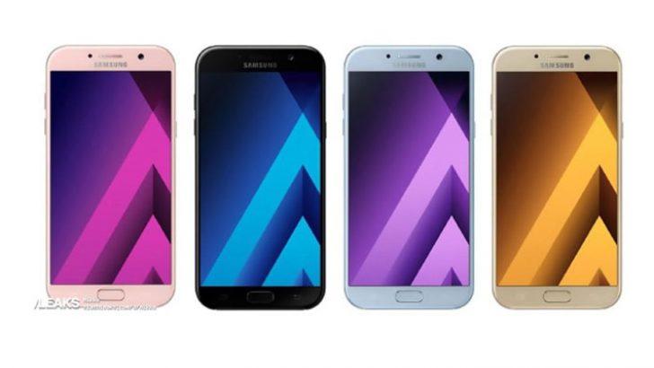 Samsung Galaxy A serisi telefonlarını görücüye çıkardı