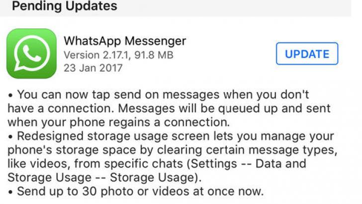 WhatsApp'tan peş peşe yenilikler