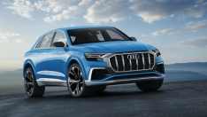 Audi'nin büyük SUV modeli Q8 Concept görücüye çıktı