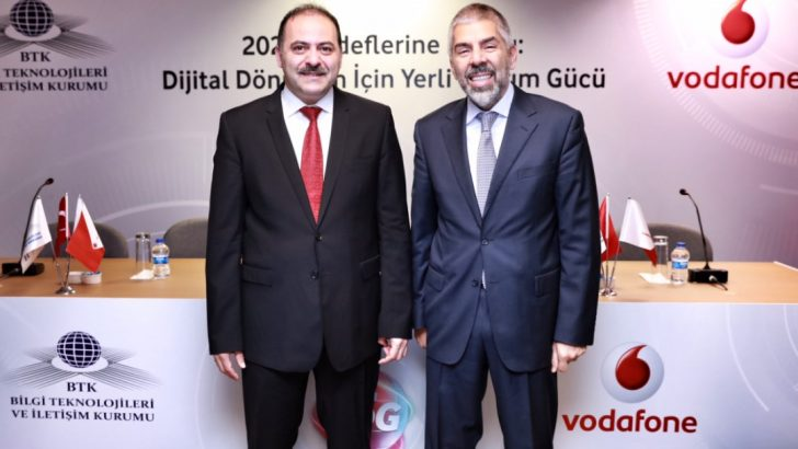 Vodafone'dan 4.5G'de yerli üretim atağı