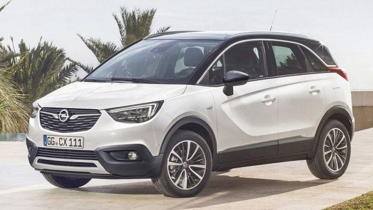 Opel Mokka'ya kardeş geldi Crossland X