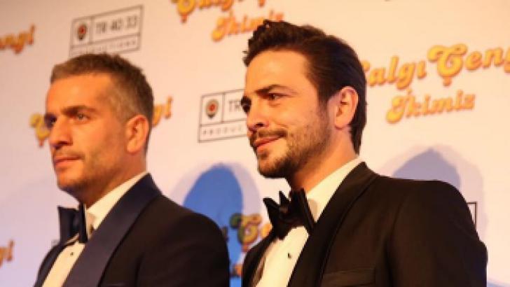 Çalgı Çengi İkimiz Film Galasından kareler