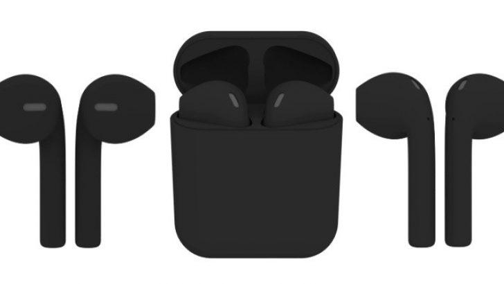 Apple AirPods kablosuz kulaklığın siyahı çıktı