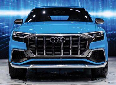 Audi'nin yeni amiral gemisi Q8 göz kamaştırdı
