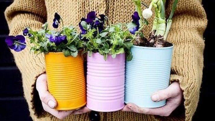 Bahçenizi geri dönüşümle güzelleştirmenin 15 mükemmel yolu