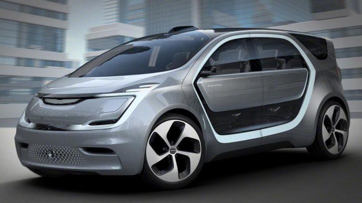Fiat Chrysler'in elektrikli otomobil konsepti Portal ortaya çıktı