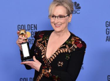 Meryl Streep'in konuşması 74. Altın Küre Ödüllerine damga vurdu