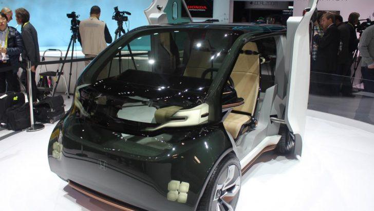 CES: Honda'nın NeuV konseptinin marifetleri şaşırtıyor