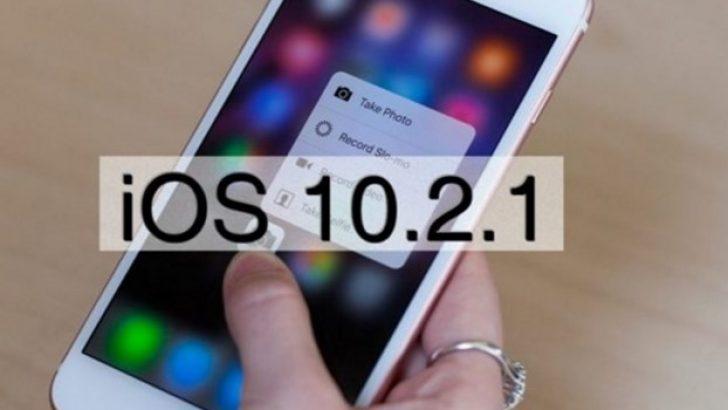 iOS 10.2.1 güncellemesi sorunlara çare olmadı