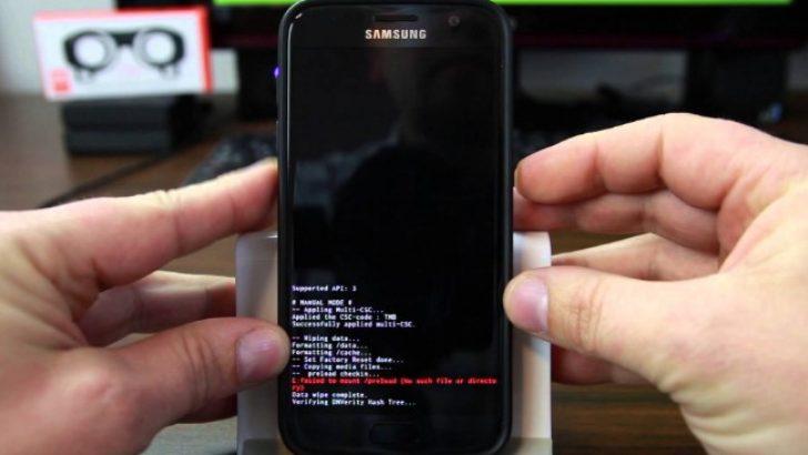 Galaxy S7, S6, S5, S4 Mini format atma resetleme sıfırlama nasıl yapılır
