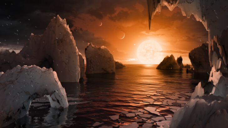 NASA'dan 7 yeni gezegen için 4 yeni poster