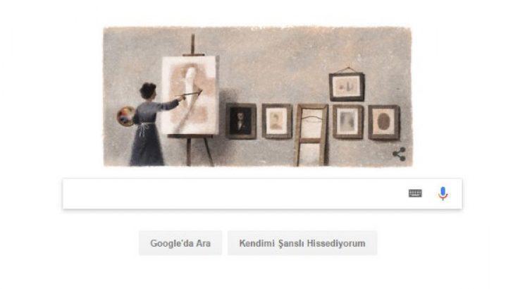 Google ünlü ressam Mihri Müşfik Hanım'ı unutmadı