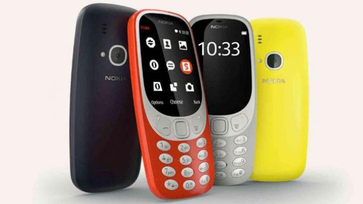 Yeni Nokia 3310 tanıtıldı! İşte Nokia 3310'un fiyatı ve özellikleri