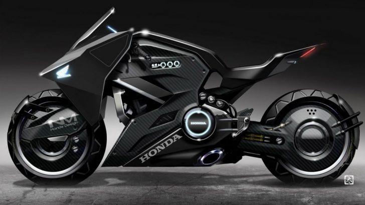 Honda'dan Ghost in Shell filmi için konsept motosiklet