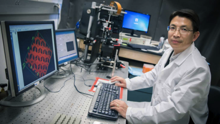 3D yazıcı ile damar ağı üretildi