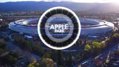 Apple'ın yeni kampüsü havadan görüntülendi