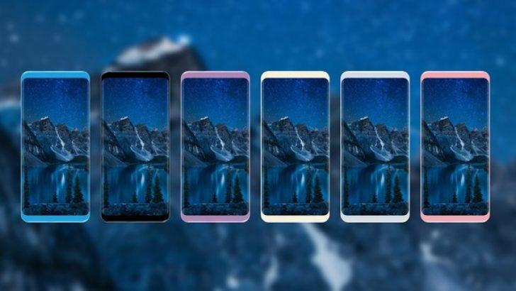 Galaxy S8'in renk seçenekleri ve arka kapağı sızdırıldı