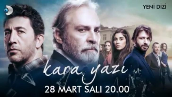 """Yeni dizi """"Kara Yazı"""" 1. bölümü ile 28 Mart Salı günü başlıyor"""