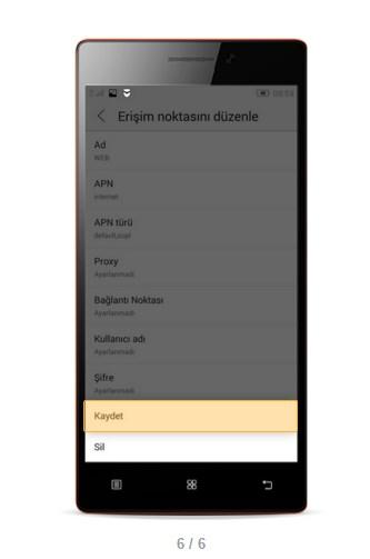 Lenovo A7000 Turkcell, Vodafone, Türk Telekom internet ...