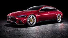 805-beygir gücündeki Mercedes AMG GT Concept Cenevre'de tanıtıldı