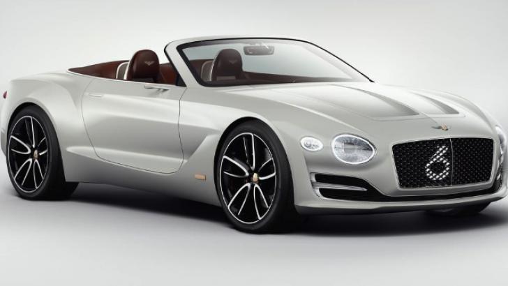 Bentley EXP 12 Speed 6e Cenevre'de görücüye çıktı