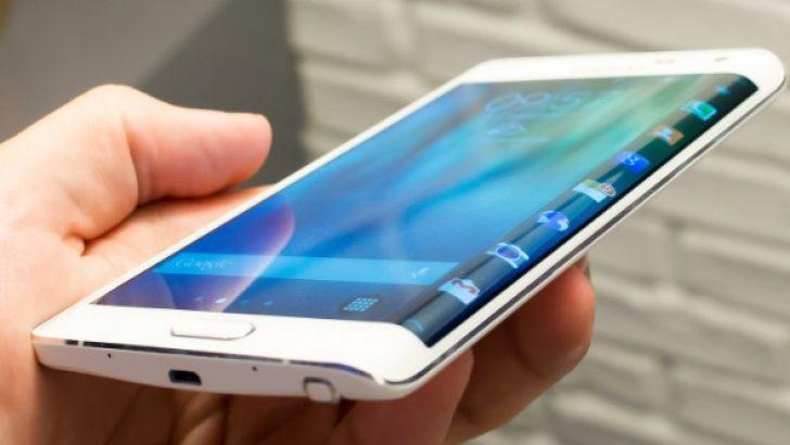 Galaxy Note Edge'de ekran görüntüsü alma yakalama