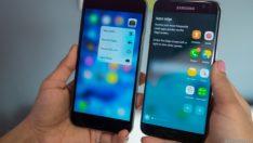 Galaxy S7 Edge vs Note 5 vs iPhone 6s Plus karşılaştırma