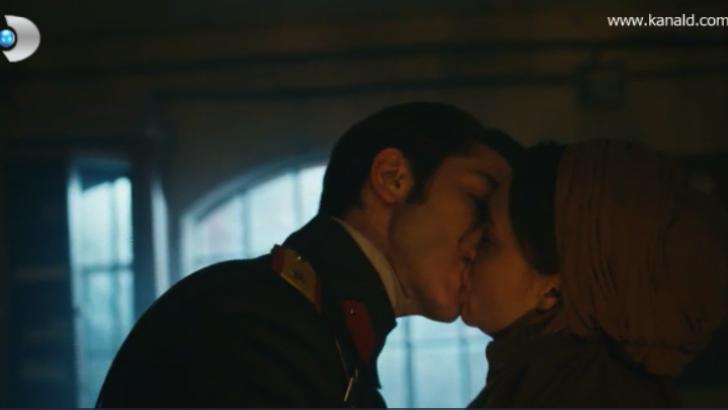 Hilal ile Leon böyle öpüştü – Vatanım Sensin 17. Bölüm