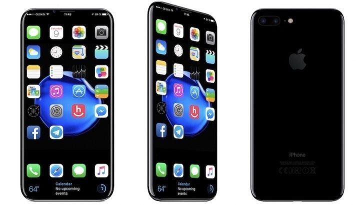 iPhone 8'de kablosuz şarj için cam gövde kullanılabilir