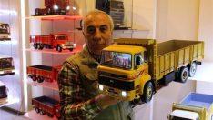 İsmail Erzurumluoğlu'nun maket kamyonlarına büyük talep
