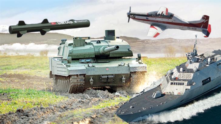 Türk savunma sanayinden büyük atak