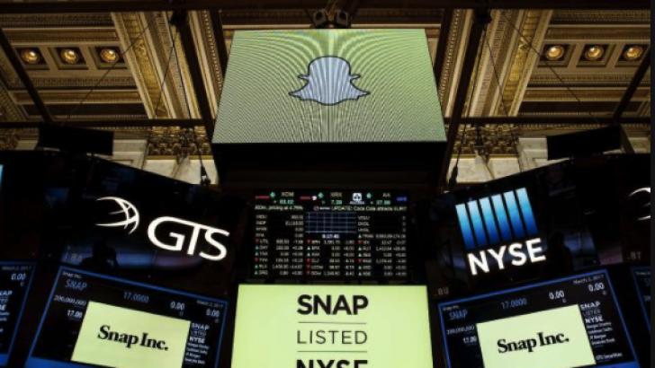 SnapChat hisseleri borsadaki ilk gününde rekor kırdı