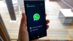 Windows Phone'da WhatsApp toplu mesaj nasıl gönderilir
