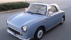 90'lı yılların retrosu Nissan Figaro