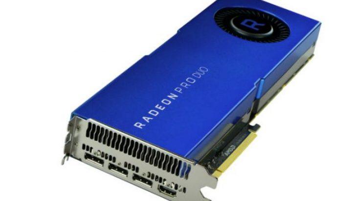 AMD'nin yeni Polaris tabanlı Radeon Pro Duo ekran kartı selefinden daha yavaş