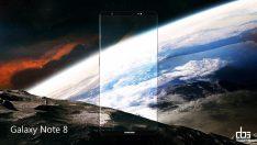 Galaxy Note 8 konsept görüntüleri görenleri büyülüyor
