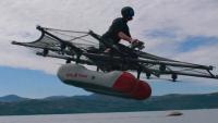 Google'ın kurucusu Larry Page'in uçan aracı Flyer görücüye çıktı