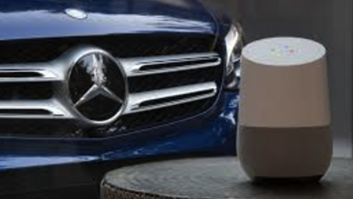 Google Asistan veya Amazon Echo ile Mercedes otomobiller çalıştırılabilecek