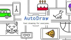 Google'dan çizime meraklılar için AutoDraw