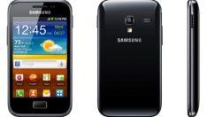 Samsung Galaxy Ace telefona format atma sıfırlama nasıl yapılır