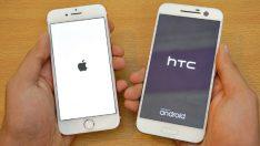 iPhone rehber kartvizitlerini HTC telefonlara aktarma